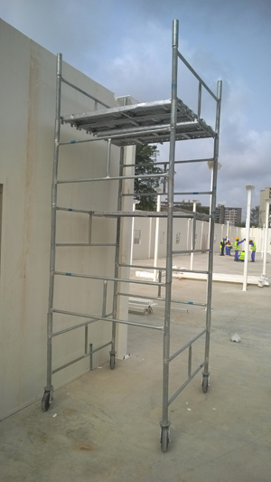 Galvanised Mobile Scaffold