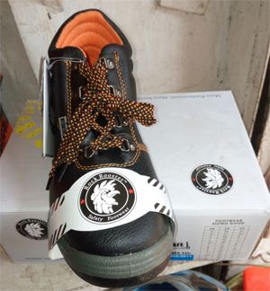 Protective footwear in Lagos from Scaffold Equipment Nigeria Limited