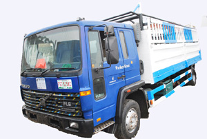 Scaffold Equipment Nigeria logistics fleet in Lagos